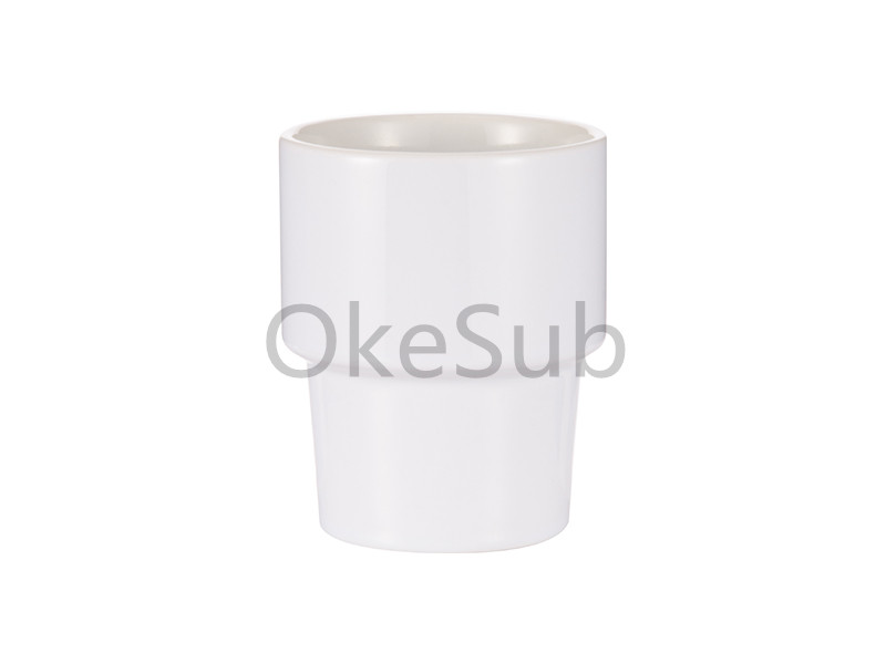12oz 360ml Ceramic Stackable Travel Mug