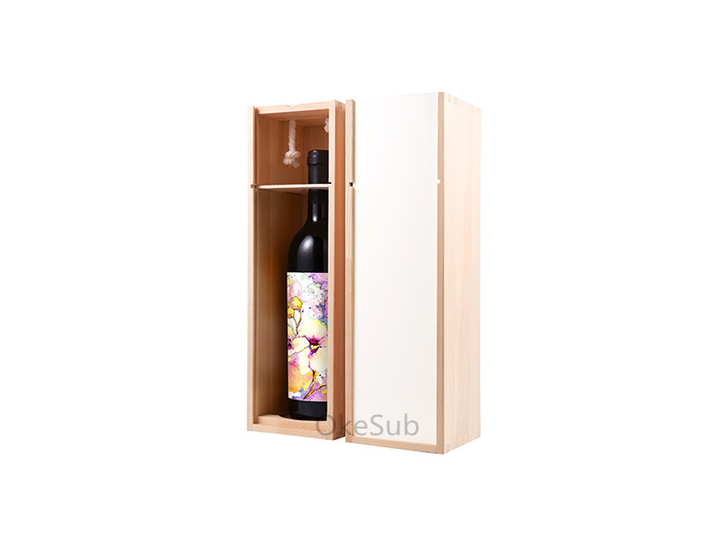 Natural Wooden Wine Case