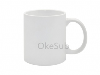 11oz White Coated Mug (Matt)