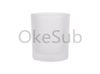 10oz Frosted Glass Mug without Handle