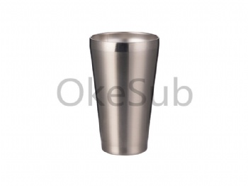 15oz 450ml Stainless Steel Tumbler without Lid (Silver)
