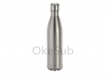 25oz 750ml Stainless Steel Cola Bottle (Silver)
