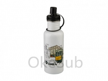 600ml Stainless Steel Bottle(white)