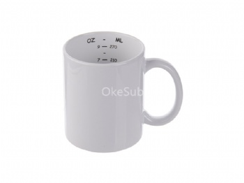 11oz Motto Mug (Measurement)