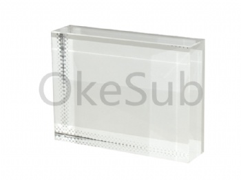 Rectangle Sublimation Crystal