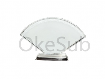 Fan-Shaped Screen Sublimation Crystal