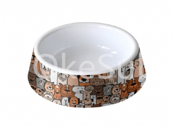 Sublimation Plastic Pet Bowl